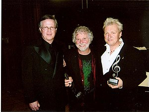 Chuck Leavell - Left to Right: Ray Reach, Chuck Leavell and Peter Wolf at the 2008 BAMA Awards in Birmingham, Alabama