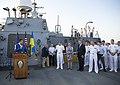 Reception with Ambassador Pyatt Aboard USS ROSS, July 24, 2016 (28299485830).jpg