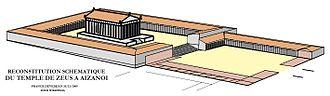 Aizanoi - Reconstruction of the Temple of Zeus