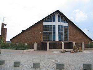 Orlando, Soweto - Image: Regina mundi church, soweto