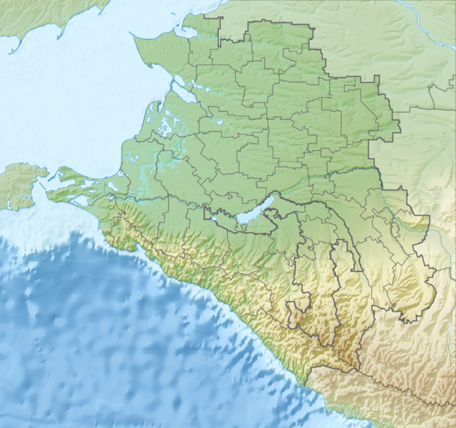 Файл:Relief Map of Krasnodarski Krai.png
