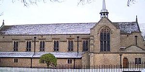 Sedbergh School - Sedbergh School Chapel