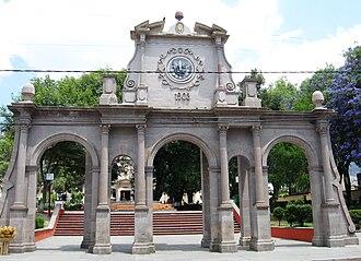 Temascalcingo - Image: Reloj Monumental Temas MX