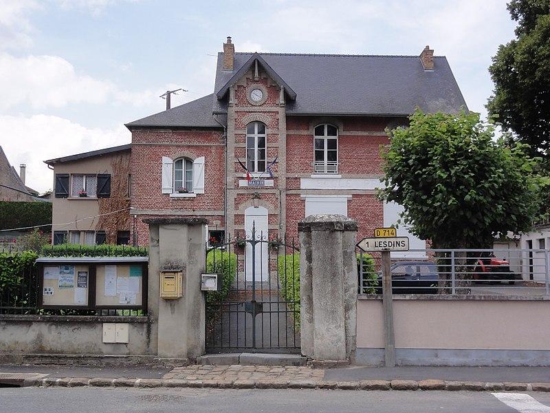 Remaucourt (Aisne) mairie