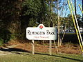 Remington Park Thomasville, main sign.JPG