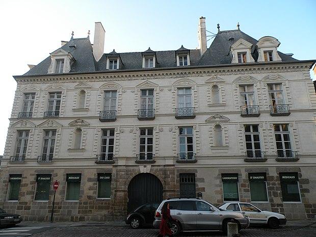 Monument historique à Rennes
