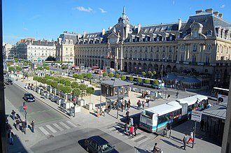 Denez Prigent - The urban setting of Rennes, which Denez Prigent sought to leave.
