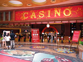 Resorts World Sentosa - Access control at the Resorts World casino