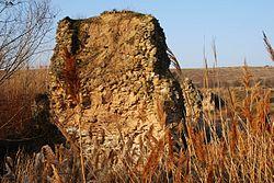 Restos del puente romano en Agoncillo.JPG