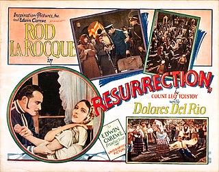 <i>Resurrection</i> (1927 film) 1927 film by Edwin Carewe