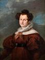 Retrato de D. Maria Cristina de las Dos Sicilias en hábito de carmelita (1834) - Vicente López Portaña.png