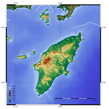 Topographic map of Rhodes Rhodos topo.png