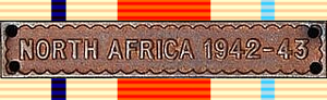 Africa Star - North Africa 1942-43 Clasp