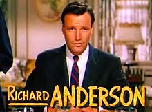 Richard Anderson in I Love Melvin trailer.jpg