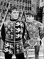 Richard Burton Roddy McDowall Camelot 1963.JPG