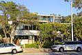 Neutra House, Silver Lake Boulevard facade