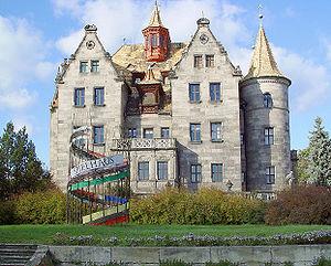 """Rudolstadt - The so-called """"Richtersche Villa"""" (Richters Mansion)."""