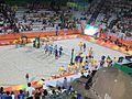 Rio 2016 - Olympic Games- 7 August Beach Volleyball (BV002) (29077753541).jpg