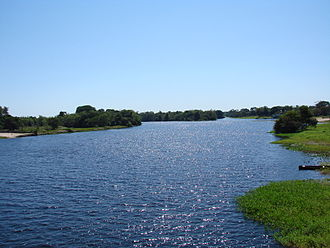 Mato Grosso - Guaporé River in Mato Grosso