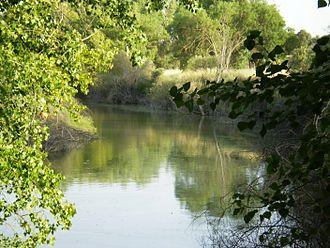 El Pardo - Image: Rio Manzanares en el Monte de El Pardo