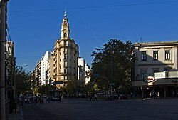 Corner of Rivadavia and Yrigoyen Avenues