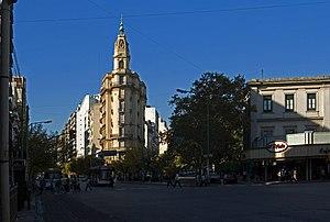 Almagro, Buenos Aires - Corner of Rivadavia and Yrigoyen Avenues