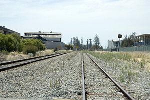 South Fremantle, Western Australia - Area of the old marshalling yards