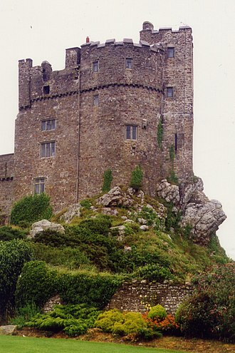 Roch Castle - Image: Roch Castle 4595482 by Chris Andrews