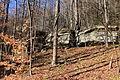 Rock formation in Fairmount Township, Luzerne County, Pennsylvania 1.JPG