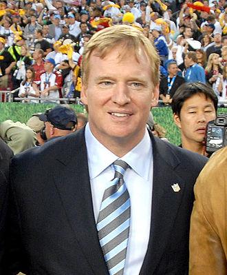 Spygate (NFL) - NFL Commissioner Roger Goodell at Super Bowl XLIII.