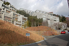 Rokko Housing One, 1979 and Two, 1991, Kobe, Japan