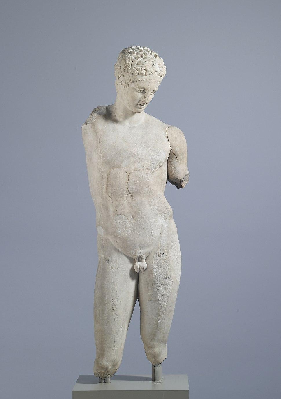 Roman - Satyr Pouring Wine - Walters 2322