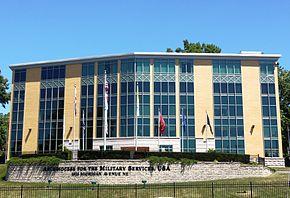 La sede degli uffici dell'ordinariato militare statunitense