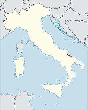 Roman Catholic Archdiocese of Trani-Barletta-Bisceglie - Image: Roman Catholic Diocese of Trani in Italy