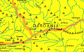 Roman Empire Map 150 AD Dardania by Alexander Findlay.png