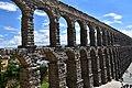 Roman aqueduct, Segovia, 1st century CE (16) (29363671152).jpg
