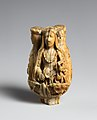 Rosary Terminal Bead with the Virgin and Child, Saint Barbara, and Saint Catherine MET DP-1683-001.jpg