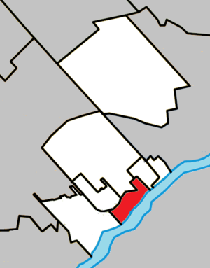Rosemère, Quebec - Image: Rosemère Quebec location diagram