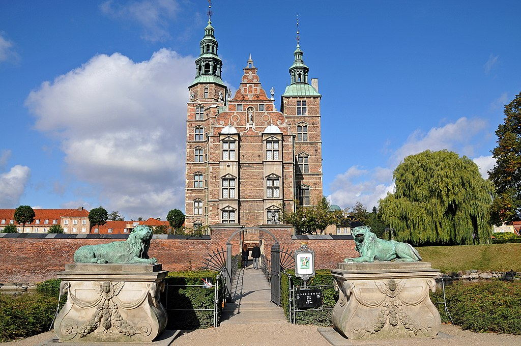 Chateau de Rosenborg à Copenhague - Photo de Dennis Jarvis