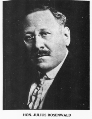 Julius Rosenwald - Image: Rosenwald