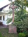 Rotsandsteinkruzifix in Klingenberg Röllfeld.JPG