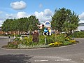 Roundabout at Houndstone Retail Park - geograph.org.uk - 1429872.jpg