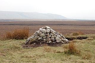 Round Loaf Late-Neolithic or Bronze Age tumulus on Anglezarke Moor, England