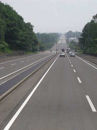 Japan National Route 38 - Image: Route 38 Memuro