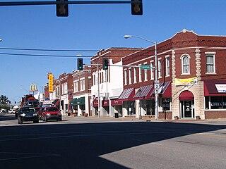 Vinita, Oklahoma City in Oklahoma, United States