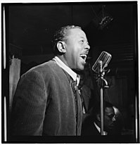 Roy Eldridge Roy Eldridge, Spotlite (Club), New York, ca. Nov. 1946 (William P. Gottlieb 02271).jpg