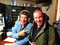 Roy Harter at the SiruiusXM studio with Cousin Brucie..jpg