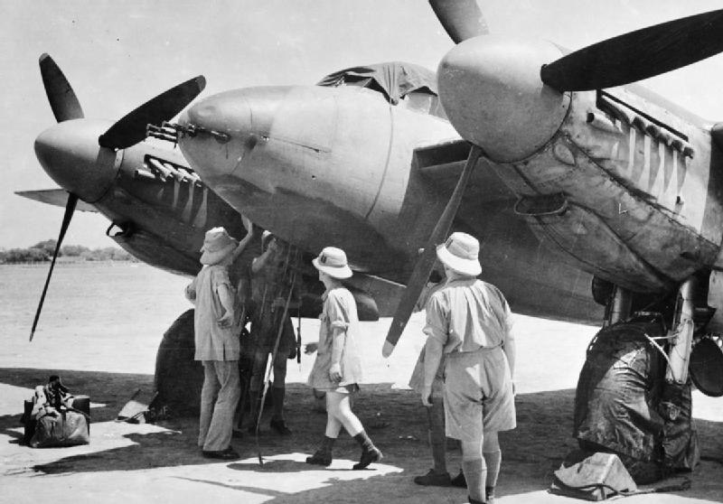 Royal Air Force Operations in the Far East, 1941-1945. CI581