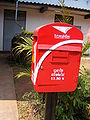 Royal Thai Mail - new livery of post boxes.JPG