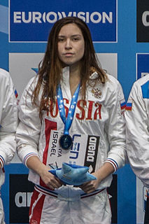 Rozaliya Nasretdinova Russian swimmer